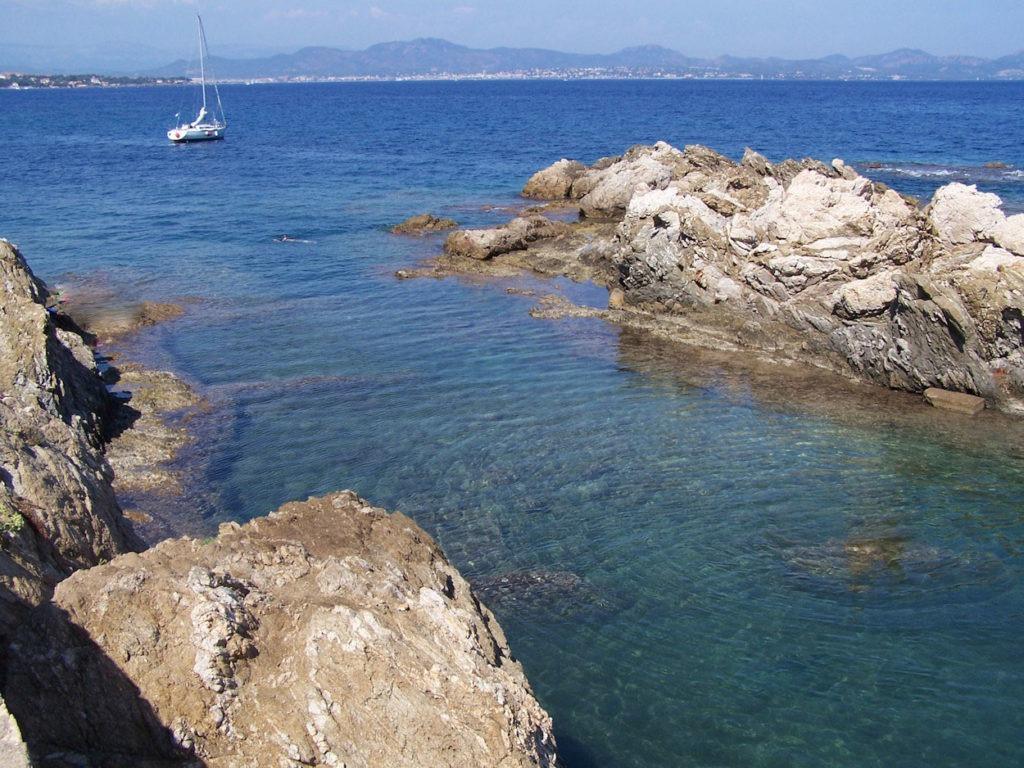 criques plages golfe de saint tropez sainte maxime